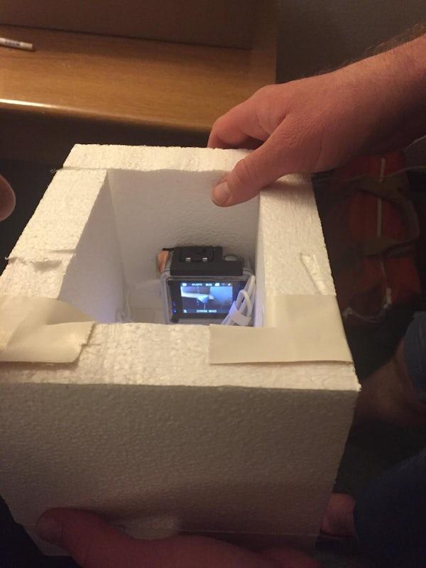 Camera In Box