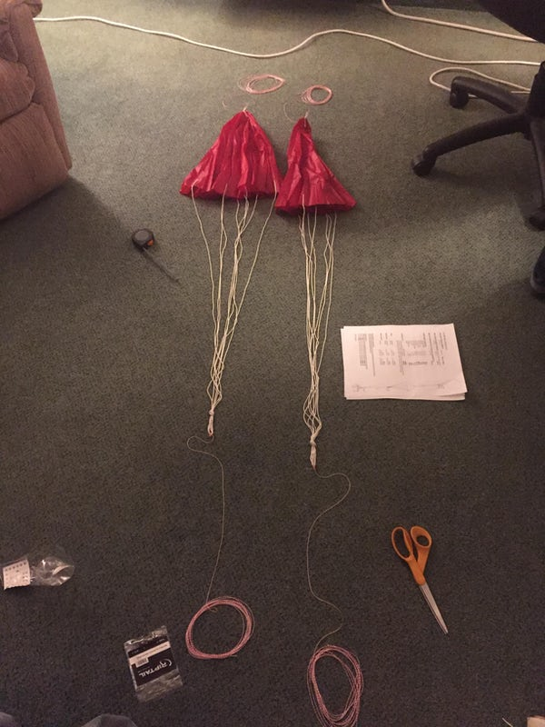 Parachutes And Cords