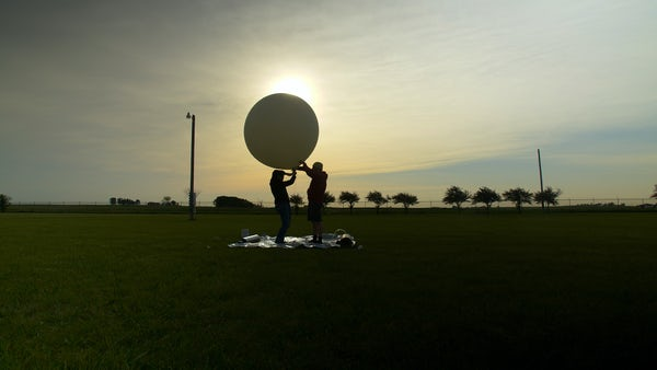 Erica Bryan Weather Balloon