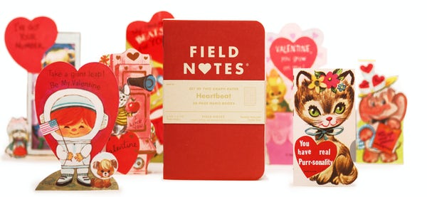 Red Heartbeat Edition 2-Pack with Valentine's Day cards